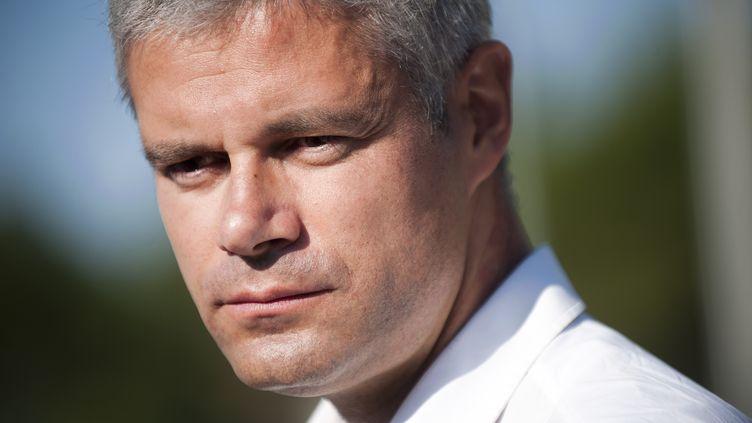 Laurent Wauquiez, le 7 septembre 2014, à la Baule (Loire-Atlantique). (JEAN-SEBASTIEN EVRARD / AFP)