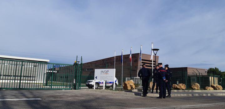 L'Ensosp à Aix-en-Provence va accueillirla deuxième vague de rapatriés de Wuhan, le 2 février 2020. (BENJAMIN  ILLY / RADIO FRANCE)