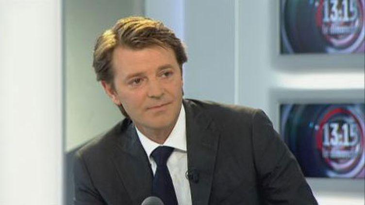 Le ministre du Budget, invité du JT de France 2, le 5 septembre 2010. (France 2)