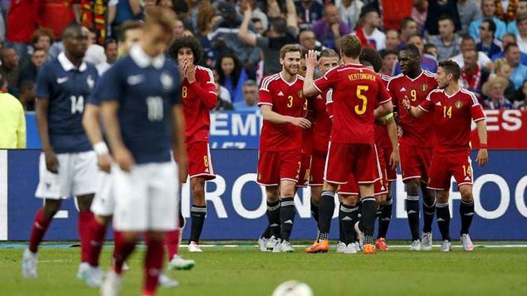 (La France n'avait pas encaissé autant de buts à domicile depuis 1982 © Reuters-Benoit Tessier)
