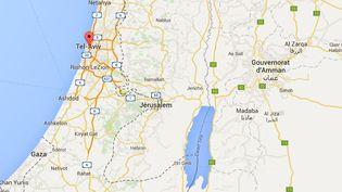 Capture écran Google Maps du quartier de Sarona à Tel-Aviv (Israël) le 9 juin 2016. (GOOGLE MAPS)