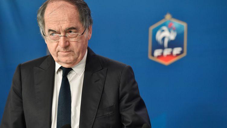 Noël le Graët, le président de la FFF.