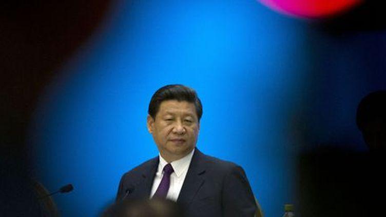 Le président chinois Xi Jingping lors d'une rencontre avec des entrepreneurs à Boao (dans la province de Hainan, dans le sud de la Chine) le 8 avril 2013. (Reuters - Alexander F. Yuan)