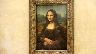"""""""La Joconde"""", la toile de Léonard de Vinci exposée au Louvre (J-M EMPORTES / ONLY FRANCE)"""