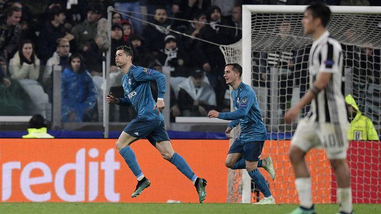 Cristiano Ronaldo, auteur d'un doublé face à la Juventus (JAVIER SORIANO / AFP)