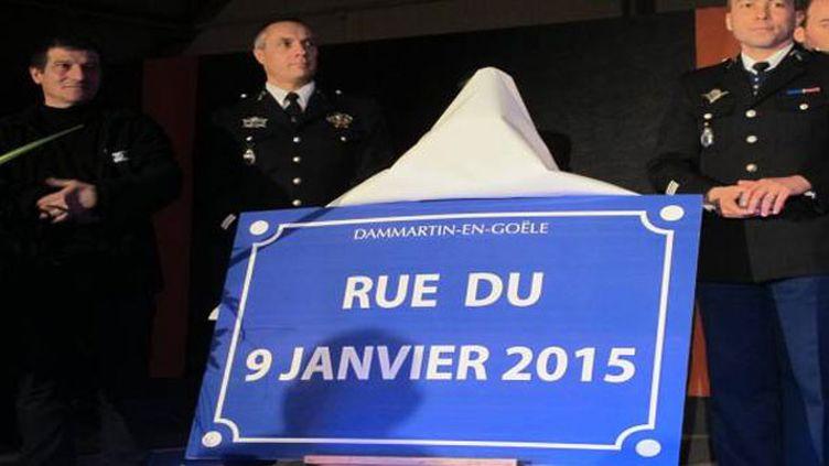 (La commune de Dammartin-en-Goële a désormais une rue du 9 janvier © MAXPPP)