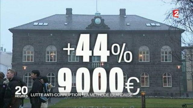 Islande : augmenter les salaires des députés pour lutter contre la corruption