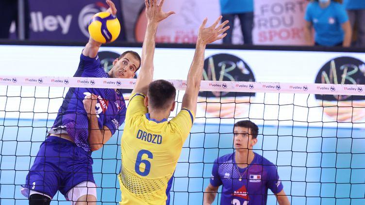 Les Bleus ont dominé l'Ukraine en match de préparation à l'Euro, le 25 août (LIONEL VADAM  / MAXPPP)