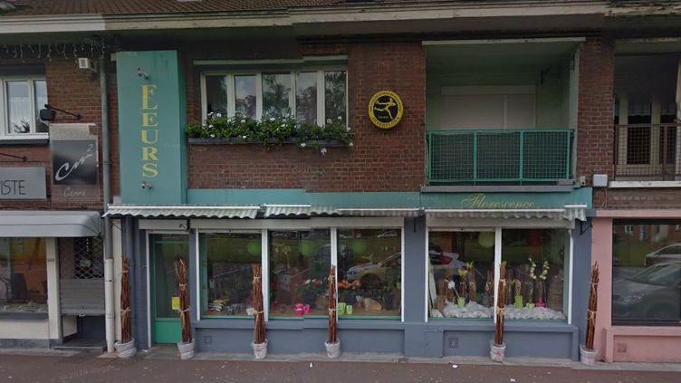 Le braqueur est entré vers 13 heures dans la boutique d'Olivier Turblin à Tourcoing (Nord). (GOOGLE MAPS)