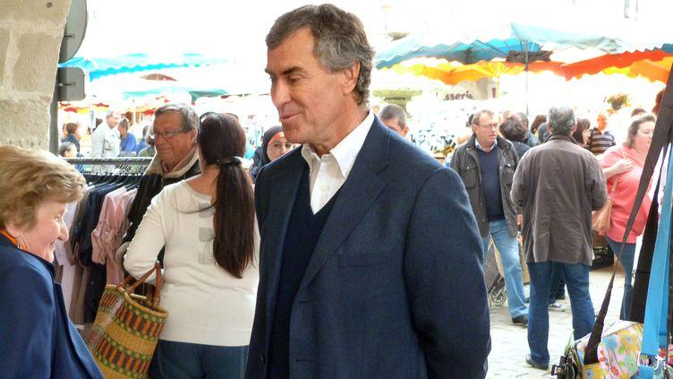 Jérôme Cahuzac à Villeneuve-sur-Lot (Lot-et-Garonne), le 11 mars 2013. (JOELLE FAURE / LA DEPECHE DU MIDI / AFP)