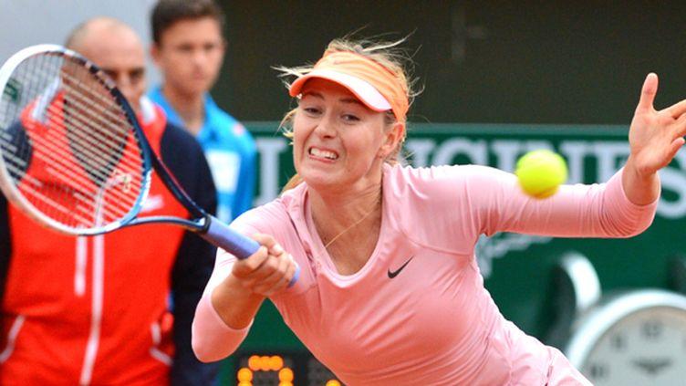Maria Sharapova n'a pas perdu le moindre jeu au 3e tour de Roland-Garros... (KEITA IIJIMA / YOMIURI)