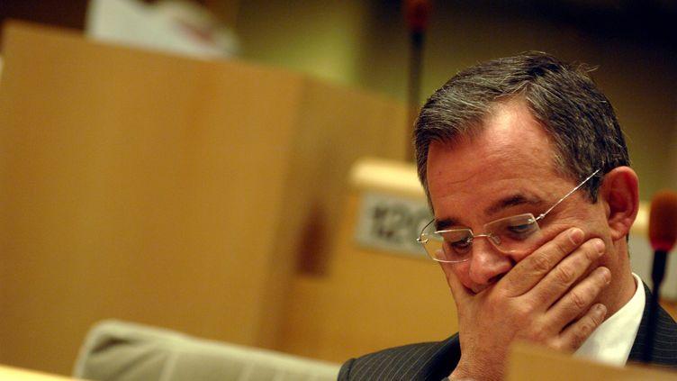 Secrétaire d'Etatde 2010 à 2012, et député depuis, l'élu Thierry Mariani (LR) a été l'un des conseillers régionaux les moins assidus en région Paca, avec seulement 37% de présence aux séances plénières. (MAXPPP)