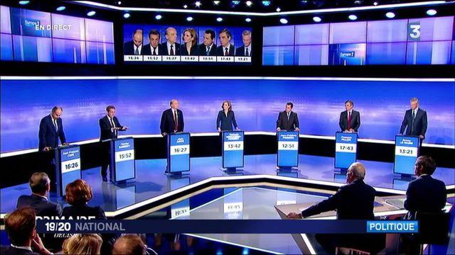 Primaire de la droite : les temps forts du dernier débat