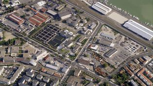 Zone industrielle du quai de Bacalan à Bordeaux (Gironde). Photo d'illustration. (BLOM / BLOM UK via GETTYIMAGES)