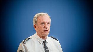 Le directeur général de la police nationale, Frédéric Veaux, lors d'une réunion au ministère de l'Intérieur, à Paris, le 31 août 2020. (ARTHUR NICHOLAS ORCHARD / HANS LUCAS / AFP)
