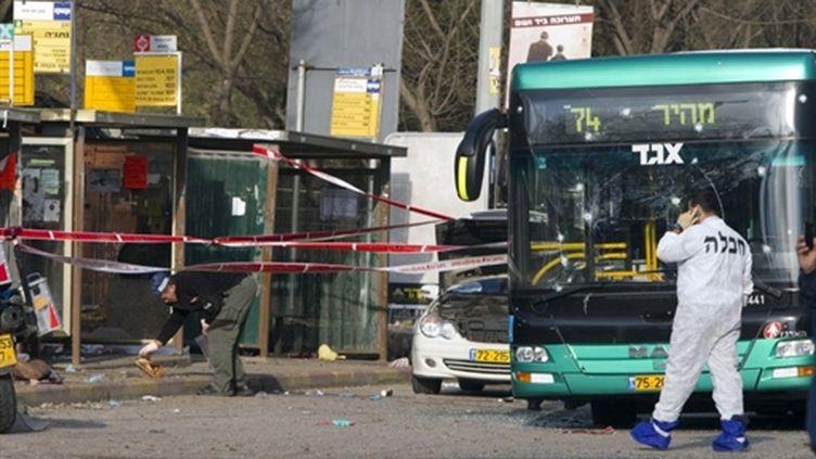 L'attentat de Jérusalem a eu lieu dans la principale gare routière de la ville (AFP - Jack GUEZ)