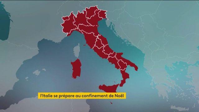 Italie : à la veille de Noël, le pays se reconfine jusqu'au 6 janvier