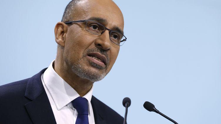 Le premier secrétaire du PS Harlem Désir, le 7 décembre 2013 à Paris. (THOMAS SAMSON / AFP)