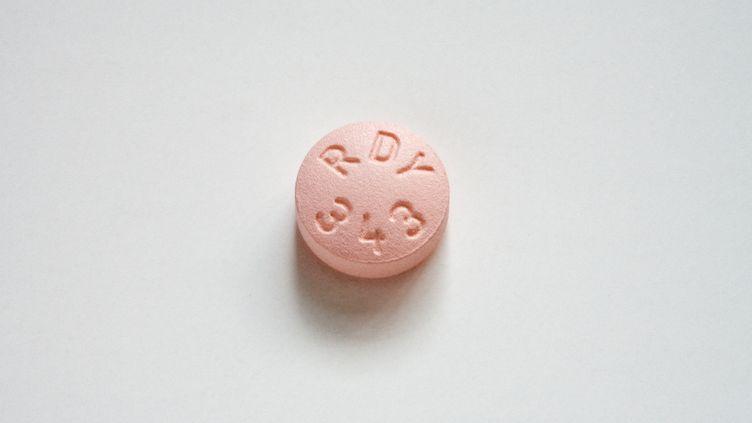 Un comprimé de citalopram, antidépresseur qui a fait l'objet d'accords entre des laboratoires afin de retarder la sortie de ses génériques. (CHRIS GALLAGHER / GETTY IMAGES)