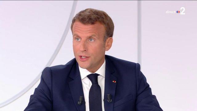 """Emmanuel Macron : """"Je ne prendrais pas de chloroquine"""""""