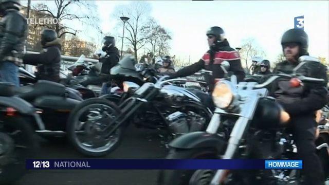 Funérailles de Johnny Hallyday : les adieux du monde des bikers