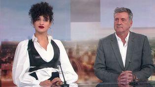 """""""Brio"""", avec Camélia Jordana et Daniel Auteuil (FRANCE 2)"""