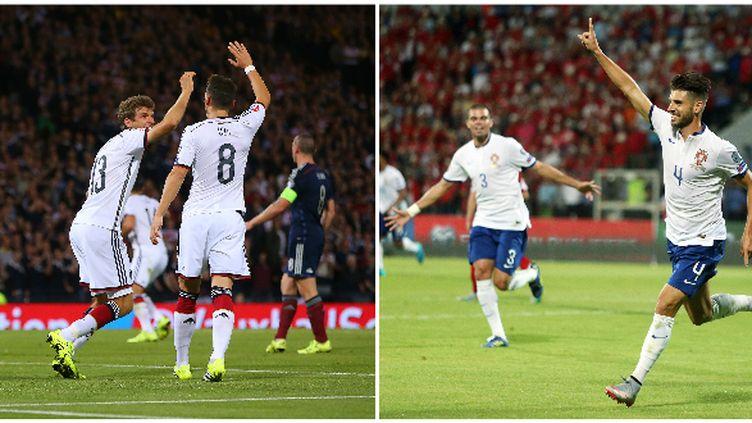 L'Allemagne et le Portugal ont fait un grand pas vers la qualification