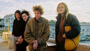 Le groupe Villejuif Underground, avec Nathan Roche (troisième depuis la gauche). (BORN BAD RECORDS)