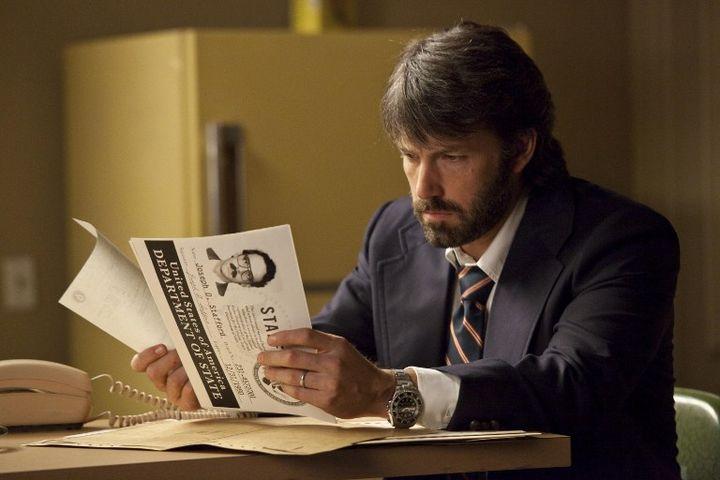 """L'acteur américain Ben Affleck dans le film """"Argo"""", qu'il a également réalisé. (KOBAL)"""