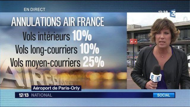 Air France : les pilotes sont en grève