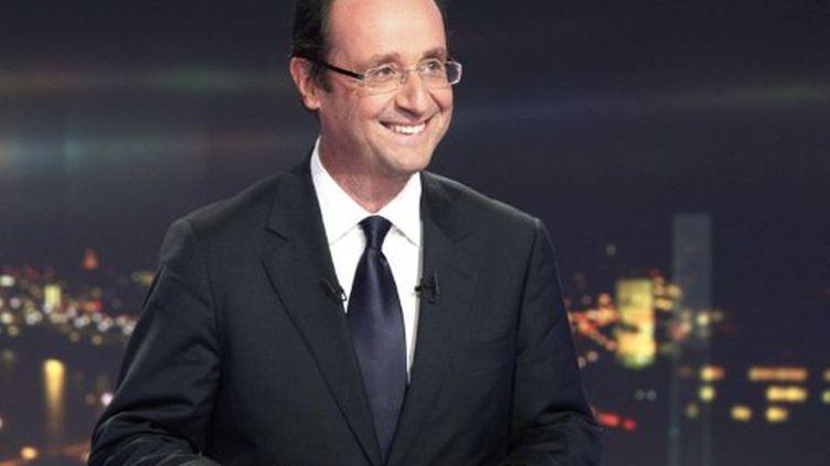 François Hollande, candidat PS à la Présidentielle. (AFP)