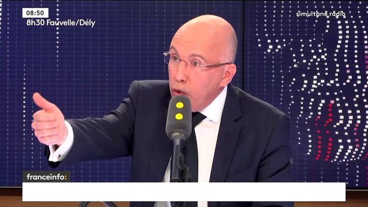 Eric Ciotti le 19 février 2018. (FRANCEINFO / RADIO FRANCE)