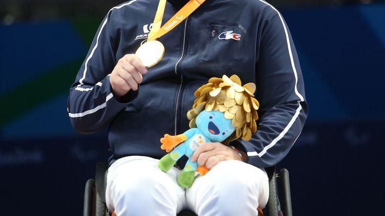 Fabien Lamirault champion paralympique de tennis de table (G.PICOUT)