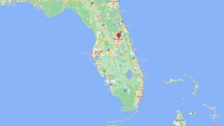 Un enfant de deux ans a tué sa mère d'une balle dans la tête alors qu'elle assistait à une réunion en visioconférence, le 11 août 2021, à Altamonte Springs, en Floride (Etats-Unis). (GOOGLE MAPS)