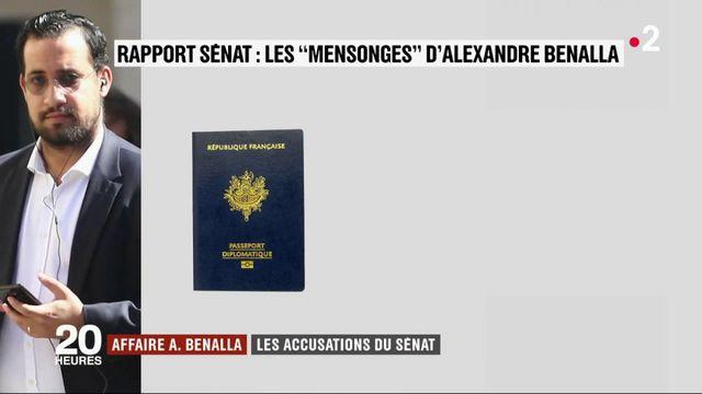 """Rapport du Sénat : les """"mensonges"""" d'Alexandre Benalla"""