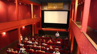 La salle de cinéma l'Eden, plus vieux cinéma du monde, à La Ciotat (Bouches-du-Rhone), rénovée de 2011 à 2013  (PLV/Doignon/SIPA )