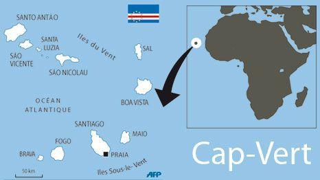 CARTE CAP VERT (AFP/LF)