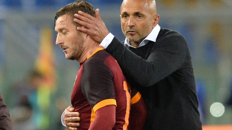 Luciano Spalletti a rendu hommage à Francesco Totti (SILVIA LORE / NURPHOTO)