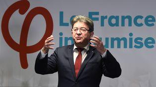 Le leader de La France insoumise, Jean-Luc Mélenchon, à Marseille, le 19 janvier 2018. (AFP)