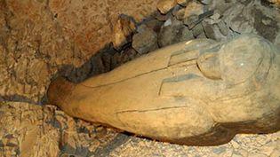 Le tombeau d'une chanteuse de la XXIIe dynastie découvert dans la Vallée des rois à Louxor (15 janvier 2012)  (AFP photo / HO / Supreme Council of Antiquities, Egypt)
