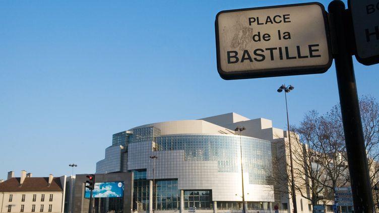 L'Opéra Bastille à Paris, le 16 février 2010. (LOIC VENANCE / AFP)