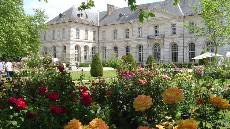 (Le parc de l'abbaye de Chaalis, dans l'Oise. ©Institut de France/Journées de la rose)