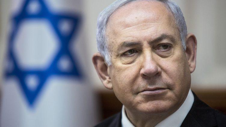Le premier ministre isrélien Benyamin Netanyahou (SEBASTIAN SCHEINER / POOL)