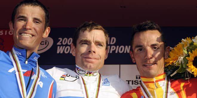 Cadel Evans champion du monde 2009
