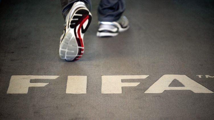 Au siège de la Fifa, le 3 septembre 2013, à Zurich (Suisse). (SEBASTIEN BOZON / AFP)