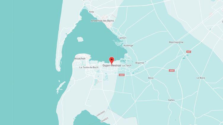 Gujan-Mestras en Gironde. (GOOGLE MAPS)