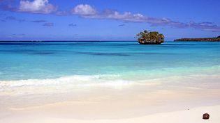 Une plage de Nouvelle-Calédonie. (MARC LE CHELARD / AFP)