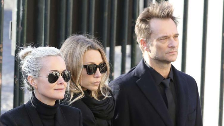 Obsèques de Johnny Hallyday, décembre 2017  (Ludovic Marin/AP/SIPA)