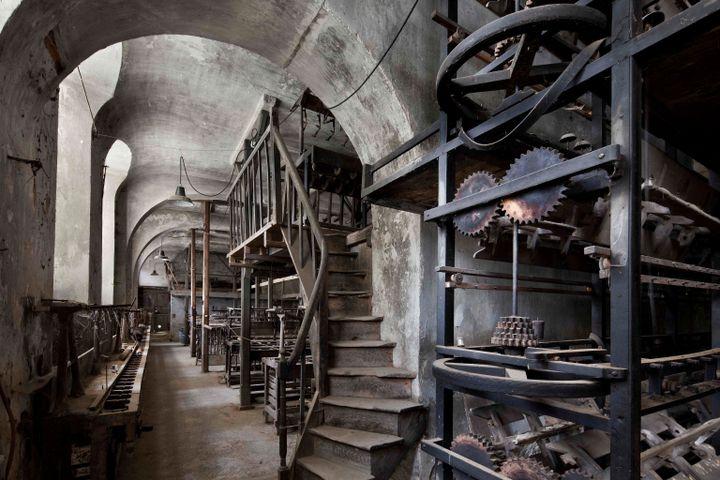 L'ancienne fabrique de soie, la Galicière, à Chatte. (Luc Boegly)