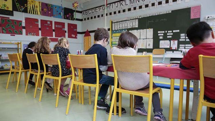 (L'institutrice placée en garde à vue enseignait à l'école maternelle de Feyiat, en Haute-Vienne © MaxPPP)